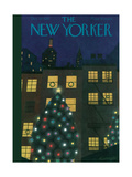 The New Yorker Cover - December 24, 1938 Regular Giclee Print by Adolph K. Kronengold