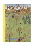 The New Yorker Cover - April 22, 1950 Regular Giclee Print by Ilonka Karasz