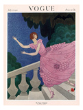 Vogue Cover - July 1921 Giclee Print by Harriet Meserole