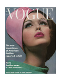Vogue Cover - March 1962 Regular Giclee Print by Bert Stern