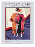 Vogue Cover - November 1925 Giclee Print by Georges Lepape