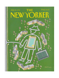 The New Yorker Cover - July 20, 1992 Regular Giclee Print by Kathy Osborn