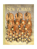 The New Yorker Cover - March 6, 1989 Regular Giclee Print by John O'brien