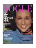 Vogue Cover - August 1974 Regular Giclee Print by Francesco Scavullo