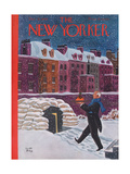 The New Yorker Cover - December 21, 1940 Regular Giclee Print by Robert J. Day
