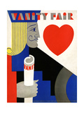 Vanity Fair Cover - November 1929 Regular Giclee Print by M. F. Agha