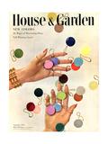 House & Garden Cover - September 1949 Giclee Print by Herbert Matter