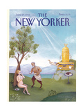 The New Yorker Cover - June 29, 1992 Regular Giclee Print by Pamela Paparone