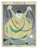 Vogue Cover - June 1917 Regular Giclee Print by George Wolfe Plank