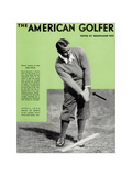 Gene Sarazen, The American Golfer April 1932 Giclee Print