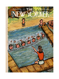The New Yorker Cover - August 21, 1954 Giclee Print by Abe Birnbaum