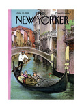 The New Yorker Cover - June 25, 1966 Giclee Print by Charles Saxon