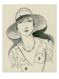 Vogue - March 1929 Regular Giclee Print by Porter Woodruff