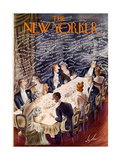 The New Yorker Cover - January 7, 1939 Giclee Print by Constantin Alajalov
