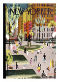 The New Yorker Cover - May 18, 1935 Giclee Print by Adolph K. Kronengold