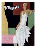 Vogue Cover - June 1929 Regular Giclee Print von William Bolin