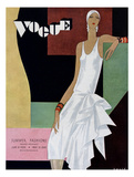 Vogue Cover - June 1929 Regular Giclee Print by William Bolin