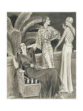Vogue - June 1933 Regular Giclee Print by  Creelman