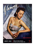 Glamour Cover - March 1941 Regular Giclee Print by Scotty Welbourne