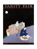 Vanity Fair Cover - January 1922 Reproduction proc&#233;d&#233; gicl&#233;e par A. H. Fish
