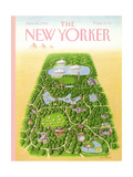 The New Yorker Cover - June 25, 1990 Giclee Print by Bob Knox