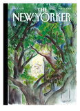 The New Yorker Cover - May 3, 2004 Reproduction proc&#233;d&#233; gicl&#233;e par Jean-Jacques Semp&#233;