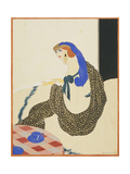 Vogue - March 1923 Regular Giclee Print by Helen Dryden