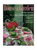 House & Garden Cover - July 1959 Giclee Print by Guy Morrison