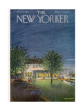 The New Yorker Cover - August 13, 1955 Giclee Print by Edna Eicke