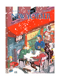 The New Yorker Cover - January 17, 1994 Regular Giclee Print by Kathy Osborn