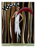 Vogue Cover - November 1927 Regular Giclee Print by William Bolin