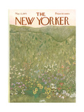 The New Yorker Cover - May 22, 1971 Regular Giclee Print by Ilonka Karasz