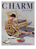 Charm Cover - July 1945 Regular Giclee Print by  Farkas