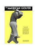 The American Golfer February 1931 Giclee Print