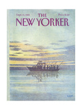 The New Yorker Cover - September 13, 1982 Regular Giclee Print by Charles E. Martin