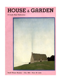 House & Garden Cover - July 1931 Giclee Print by André E. Marty
