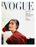 Vogue Cover - September 1949 Regular Giclee Print by Frances Mclaughlin-Gill