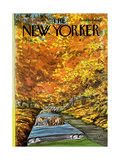 The New Yorker Cover - October 7, 1974 Giclee Print by Charles Saxon