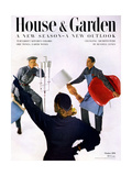 House & Garden Cover - October 1951 Regular Giclee Print by Horst P. Horst