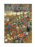 The New Yorker Cover - September 28, 1946 Regular Giclee Print by Ilonka Karasz