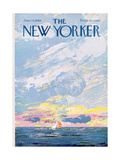 The New Yorker Cover - June 14, 1969 Giclee Print by Charles E. Martin