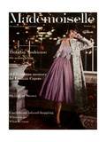 Mademoiselle Cover - December 1956 Regular Giclee Print by Mark Shaw