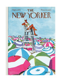 The New Yorker Cover - September 2, 1972 Giclee Print by Charles Saxon