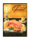 Gourmet Cover - July 1954 Regular Giclee Print by Henry Stahlhut