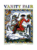 Vanity Fair Cover - December 1928 Regular Giclee Print by Guy Arnoux