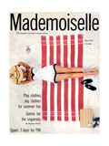 Mademoiselle Cover - May 1953 Regular Giclee Print by  Somoroff