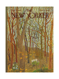 The New Yorker Cover - April 10, 1965 Giclee Print by Ilonka Karasz