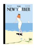 The New Yorker Cover - August 29, 2011 Regular Giclee Print by Istvan Banyai
