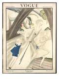 Vogue Cover - August 1921 Giclee Print by Georges Lepape