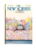 The New Yorker Cover - January 15, 1979 Regular Giclee Print by Ronald Searle